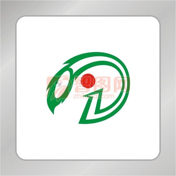 数字1凤凰标志 创意凤凰标志 数字1标志