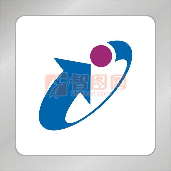 循环箭头标志 科技箭头标志