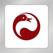鸭子标志 天鹅标志 动物标志