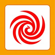 圆圈凤凰标志 创意凤凰logo