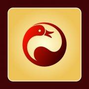 小天鹅动物标志 环保标志
