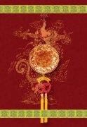 春节元素 玉佩中国结