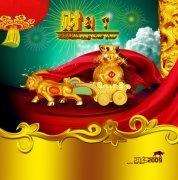 2012新春海报背景