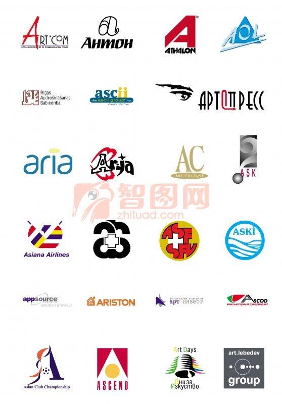 字体标志设计 企业标志; 搜索标志logo设计 的结果; 【ai】logo 图案