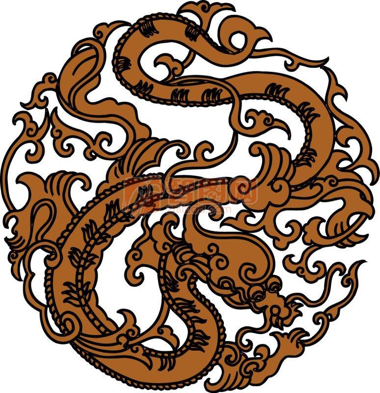花纹龙 上一张图片:   剪纸龙 雕刻飞龙 下一张图片:金龙 黑龙 龙凤呈