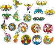 龙大全 各色龙 中国吉祥动物