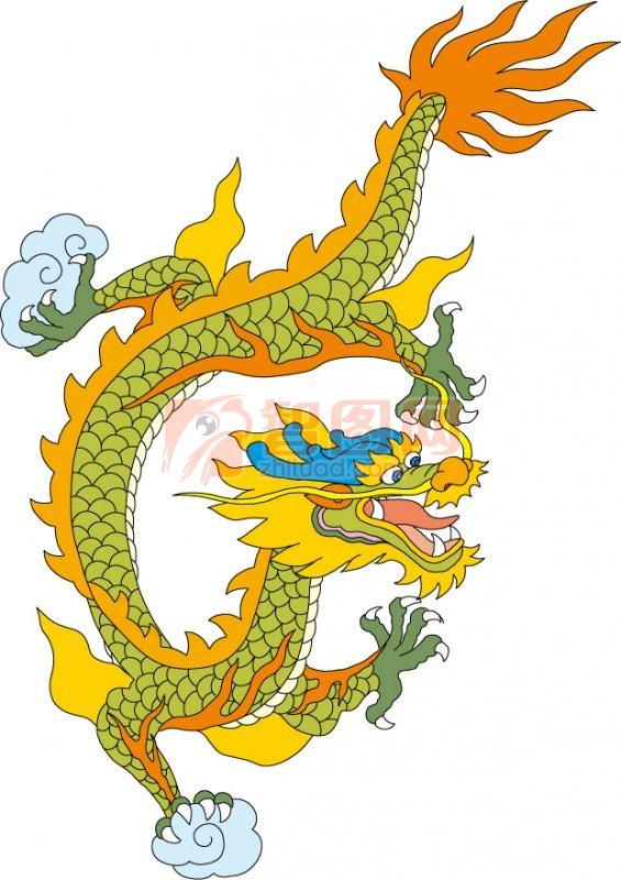 飞舞金龙 中国古典龙