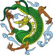 传统中国龙 龙年