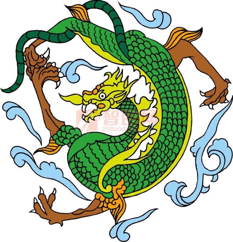 【ai】传统中国龙 龙年