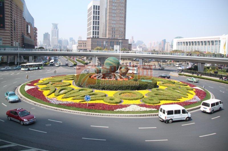 城市风景摄影元素
