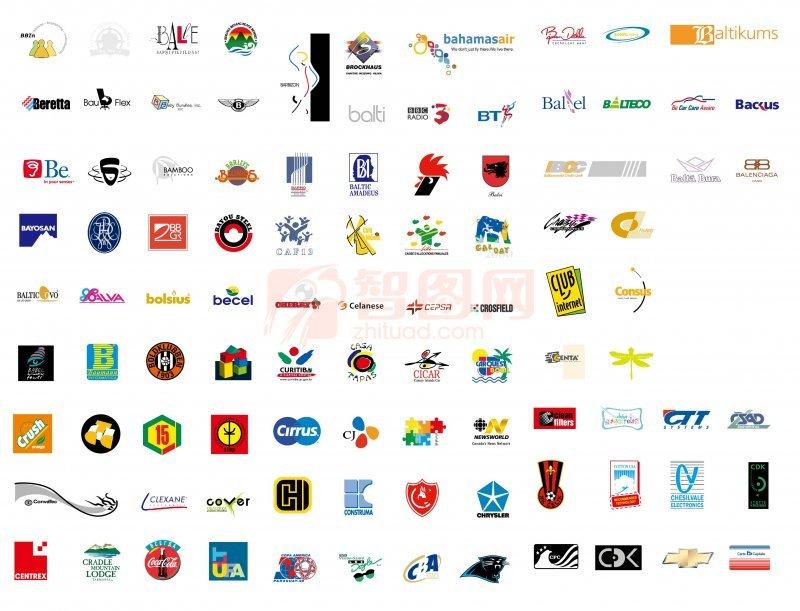 【ai】国外矢量标志 logo 图案