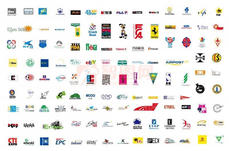 国内品牌鞋标志大全; 【ai】国外矢量标志 logo 图案; 国外logo大全