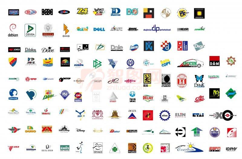 【ai】国外矢量标志 logo 图案图片