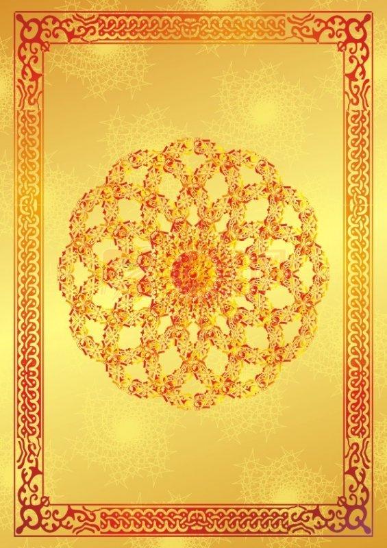 红艳艳黄金铭牌设计