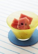 红色西瓜果肉