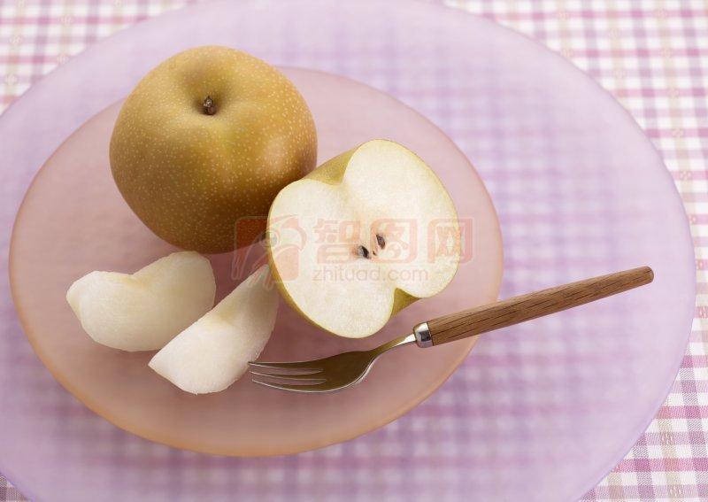 苹果梨摄影素材