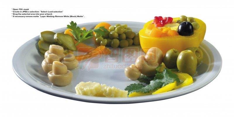 蔬菜拼盘元素04