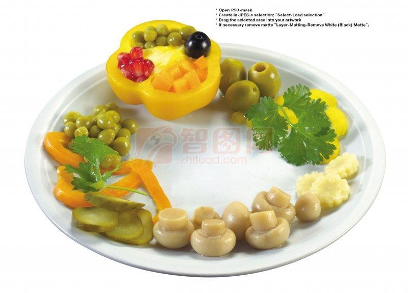 蔬菜拼盘元素03