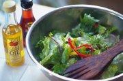 蔬菜沙拉元素