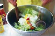 蔬菜沙拉摄影