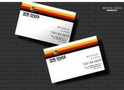 房产名片设计 卡片名片设计