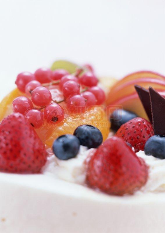 【jpg】水果蛋糕素材