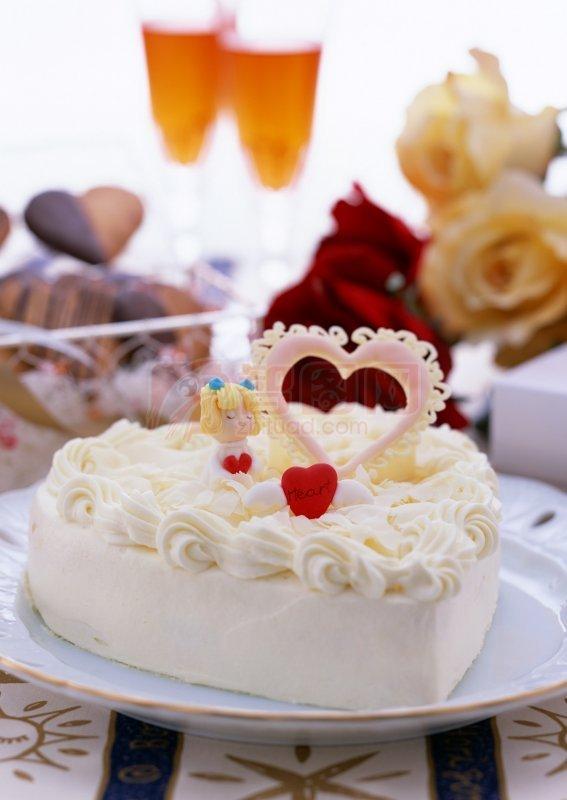 水果可爱蛋糕图片