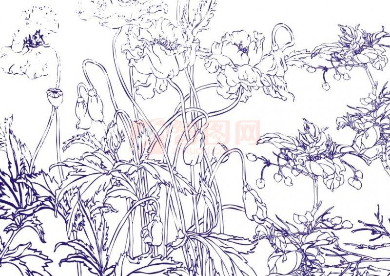 简笔画 设计 矢量 矢量图 手绘 素材 线稿 800_565