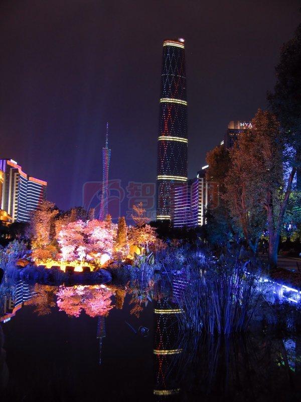 新浪logo_【jpg】广州 花城广场 夜景_图片编号:201107210456449872_智图网_www ...