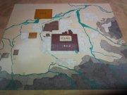 明清西安大理石地图