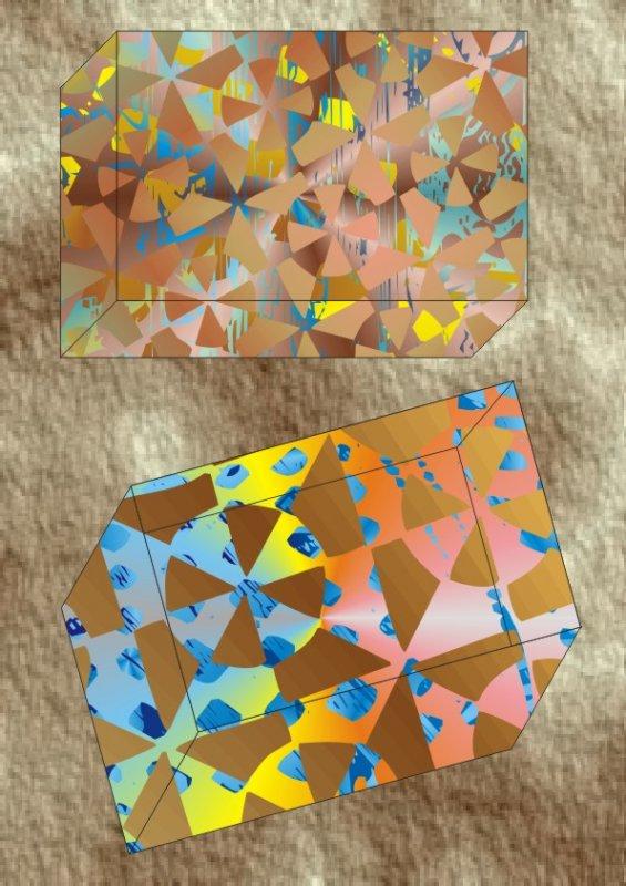 盒子创意几何花纹