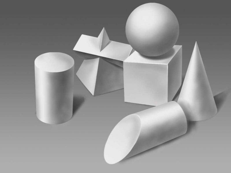 【psd】石膏几何体
