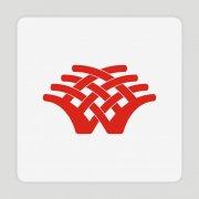 W字母标志 树形 房地产 科技 信贷 文化传媒标志