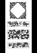 花边花纹花框设计