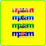 MPCAM字母设计