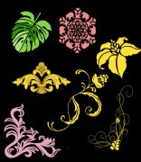 花边花纹设计