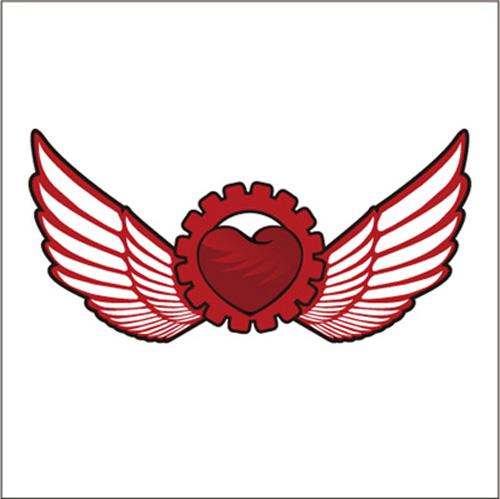 【cdr】翅膀,机械,齿轮
