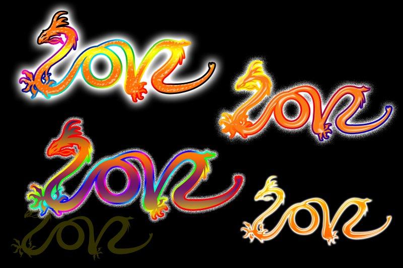 【psd】2012字体设计