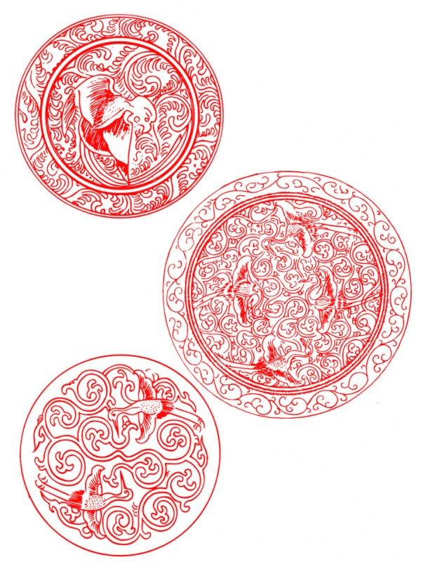 首页 ps分层专区 底纹边框 花边花纹  关键词: 说明:仙鹤花卉团花设计