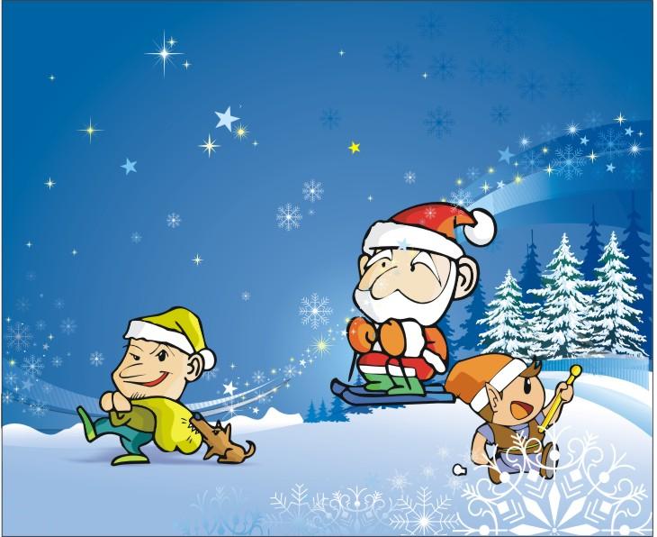 圣诞趣味海报