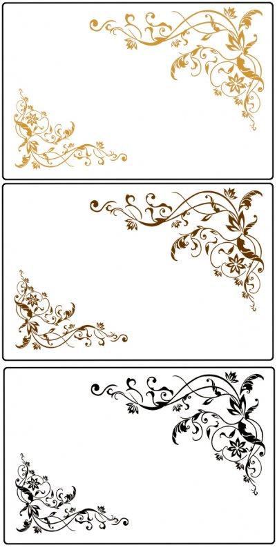 欧式花墙绘图片