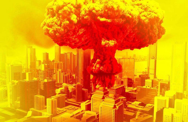 【psd】原子弹蘑菇爆炸
