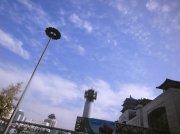 北京西站的天空