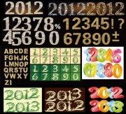2012璀星光璨的钻石数字