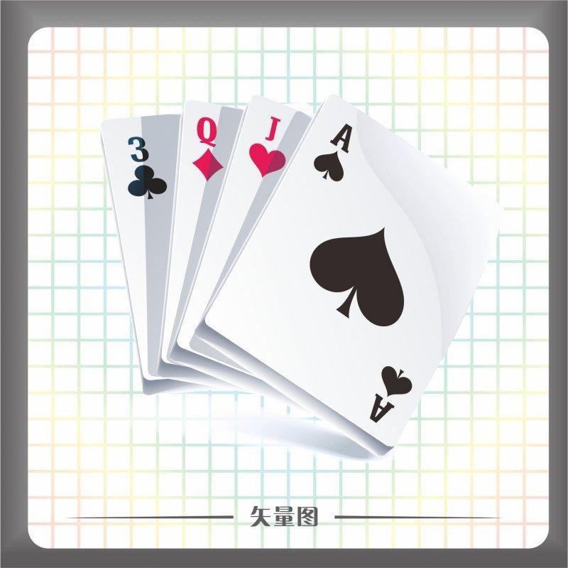 【cdr】文体矢量图下载 扑克牌矢量图下载
