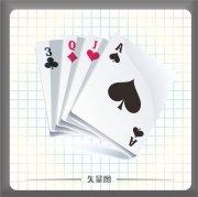 文体矢量图下载 扑克牌矢量图下载