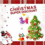 圣诞节贺卡模板