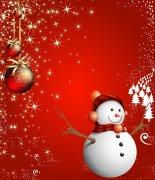 圣诞雪人素材