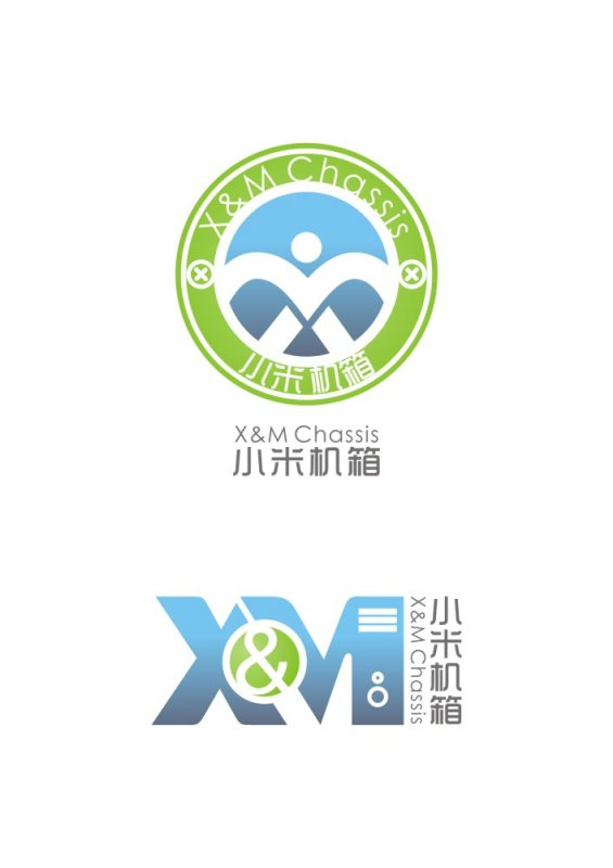 【cdr】小米机箱logo