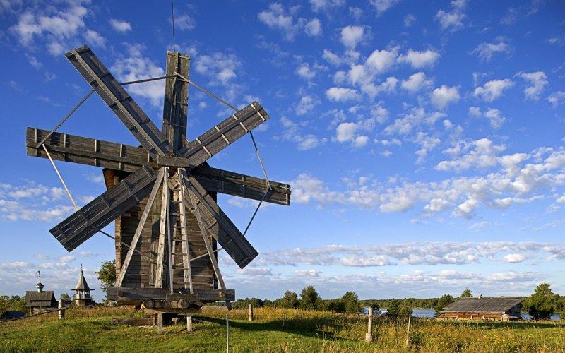 【jpg】风景图片 荷兰风车摄影 摄影图片下载 高清风景照片下载
